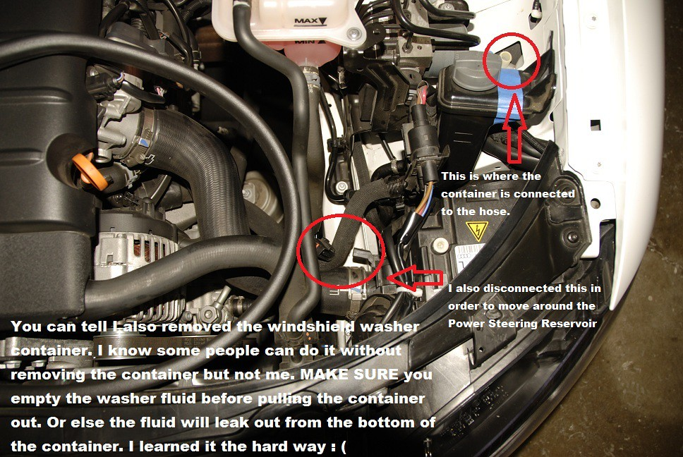 Diy Hid Headlight Bulbs Replacement Without Removing The
