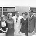 Roy Barnett Cohn (1909-1999) with Kathy Bell, Ruth Bell, Wilma Davis, Samuel  Lee Kountz (1930-1981)
