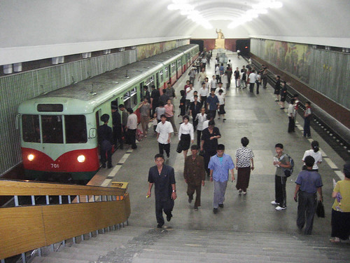 From flickr.com: Pyongyang Metro {MID-139649}