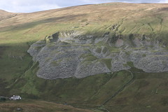 Mosedale cottage and quarry