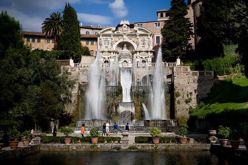 Villa d'Este Brunnen / Tivoli