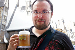 Will and his frozen butterbeer.