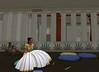 Meritaten sitting in the great hall in virtual Amarna (Akhetaten) (mharrsch) Tags: ancient egypt 18thdynasty nefertiti akhenaten virtualworld meritaten amarna virtualenvironment mharrsch akhetaten heritagekey