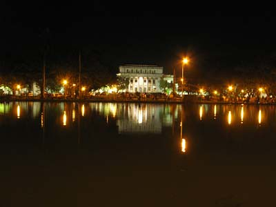 Bacolod Capitol at night