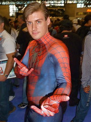 P1030471 (Randsom) Tags: new york nyc halloween comics costume cosplay spiderman peterparker center convention superhero marvel 2010 javits nycomiccon