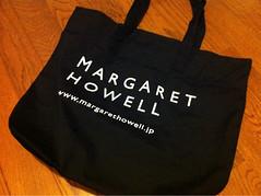 マーガレットハウエルのトートバッグ