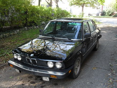 Our New Vintage BMW