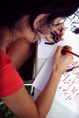 (Diseadora grfica UBA) Tags: typography calligraphy tipografa caligrafa florenciasurez
