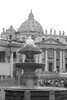 St. Peter's Basilica0834.jpg (ups80kft) Tags: vacation blackandwhite bw italy vatican rome church canon geotagged europe explore vat gtaggroup