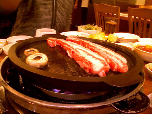 hahm ji bach korean bbq flushing queens new york
