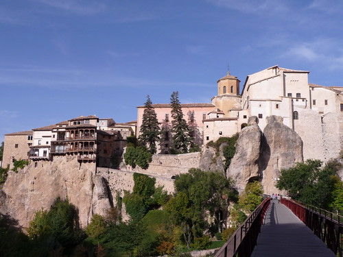 Cuenca Bridge over the Gorge and Hanging Houses