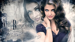 Aishwarya Rai Bachchan ... !! (Bally AlGharabally) Tags: world wallpaper india angel youth design model perfect swiss watch young dancer actress forever 1994 miss longines brand rai dolcevita advertisment aishwarya kuwaiti bachchan bally gharabally algharabally