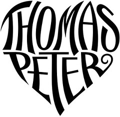 """Thomas"" & ""Peter"" Heart Design"