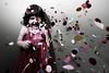 Noise (Me & My 5D3) Tags: pink child confetti artofimages bestportraitsaoi