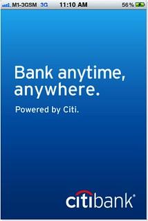 CitiMobile iPhone App v2