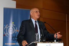 Ο αντιπρόεδρος της ΝΔ, πρώην επίτροπος της Ε.Ε για το Περιβάλλον, Σταύρος Δήμας