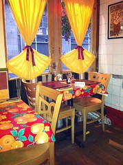 Miros Cantina Mexicana interior, Rose St, Edinburgh