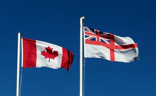 Canadian Flags Canadian Flag Royal Navy Flag