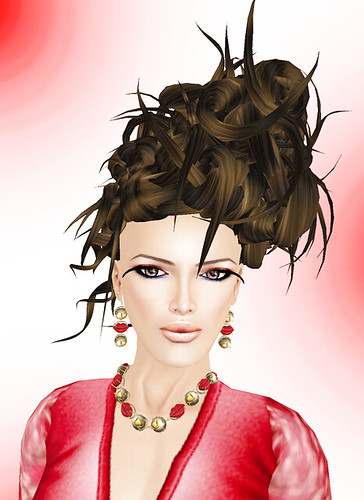 -Glam Affair- Castalia Skin - Natural  new skin D + Bliensen + MaiTai - Kiss me, Alligator + VIOLATOR- Rough Attitude-Chocolat