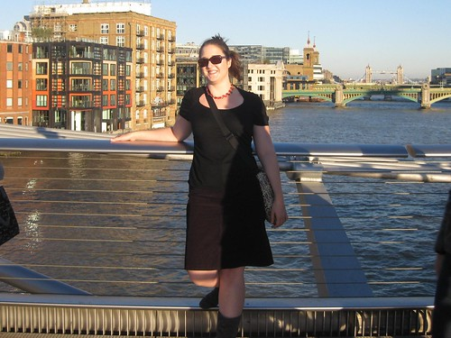 Grace on the Millenium Bridge