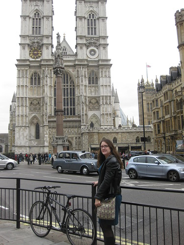 Grace in front of Big Ben