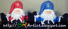 Noel no grenal (BRArtist) Tags: natal eva papainoel mamenoel casalnoel artesanatocomeva
