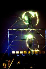IMG_7253-80 (SachaVanhecke) Tags: show fire dancing firedancing oostende ostend twirling kursaal firetwirling