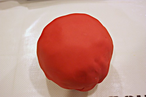 covered with fondant