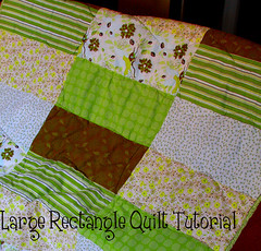 rectangle quilt tutorial