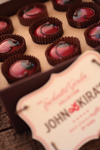John and Kiras Chocolate Cherries