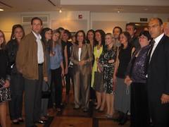 Συνάντηση με Ελληνες εκπαιδευτικούς των σχολείων της Ουάσινγκτον.