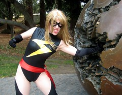 Ms. Marvel's Superstrength (Roxanna Meta) Tags: comics costume comic cosplay marvel animedestiny msmarvel xcelsior