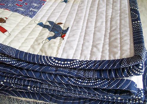 blue swirly binding