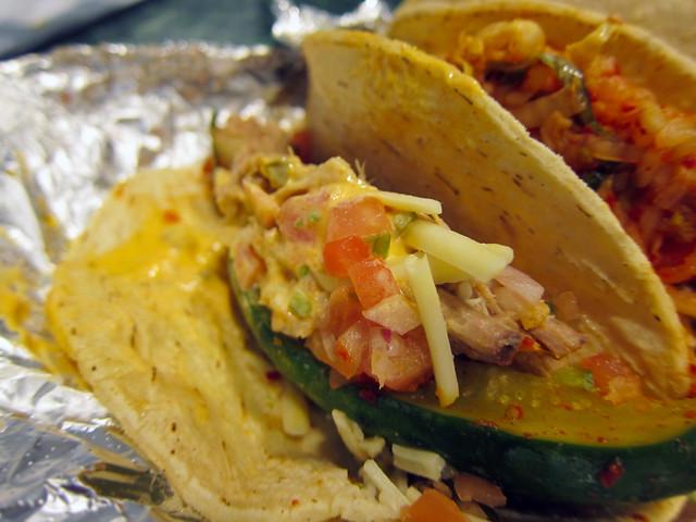 Korilla BBQ Pulled Pork Taco