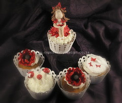 !8yrs old Fairy cupcakes! (Dot Klerck....) Tags: butterfly southafrica capetown dot fairy poppy toadstools cupcakesbydesign