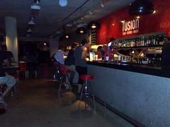 Fusion, o bar do hotel.