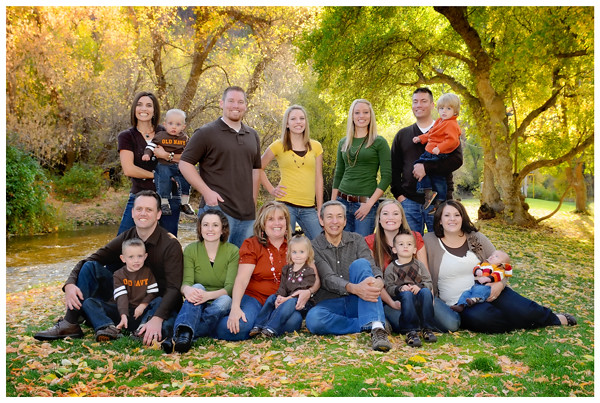 Photo Shoot Ideas For Large Families