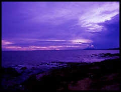 Mui Ne Sunset (eric+x) Tags: 120 mamiya 645 slide vietnam muine rvp100 fujifulm protl