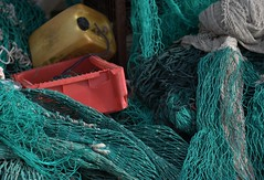 Fishing nets (steffenz) Tags: germany deutschland lenstagged pentax 85mm walimex schleswigholstein 2010 kappeln 85mmf14 samyang k100d steffenzahn rawtherapee justpentax iamflickr walimex85mm walimexpro8514if walimexpro85mm114asphericalif