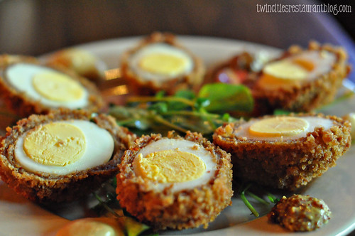 Scotch Eggs at Cork's Irish Pub ~ St Paul, MN