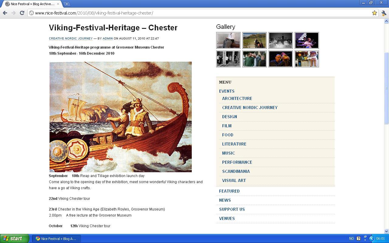 vikinge festival i chester