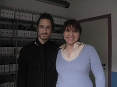 Me and Jimmy Gnecco.