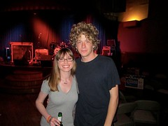 Me and Griffin, drummer of Dawes
