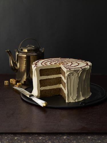 Baked Explorations Caramel Apple Cake