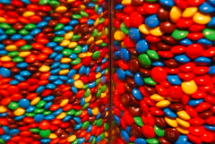 MnM'S (Loreleianne) Tags: city nyc newyorkcity vacation store colours candy many circles round colourful mnms colorphotoaward