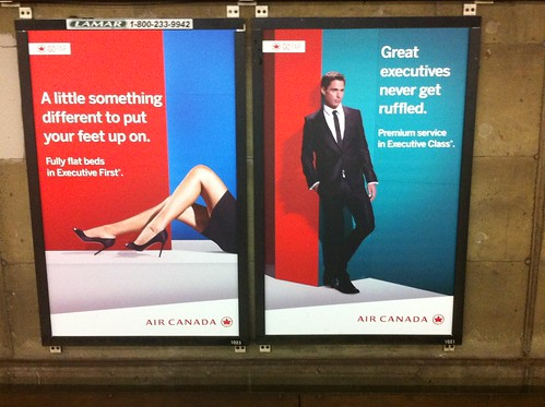 Nicely played, Air Canada, nicely played