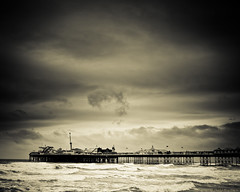 Brighton, once more... (Andre Delhaye) Tags: uk sea sky water monochrome clouds pen coast pier sand brighton waves photographer olympus andre olympuspen 43 csc brightonpier ep2 digitalpen m43 mirrorless delhaye micro43 microfourthirds 43 andredelhayecom panasonic20mmf17 olympusep2 wwwandredelhayecom penep2 wwwandredelhayenet andredelhayenet andredelhayephotographer