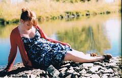 (Jessica Neuwerth (Fearless)) Tags: girls portrait reflection water girl portraits river flim