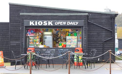 Kiosk; Open Daily