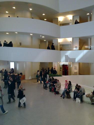 Artist at Guggenheim